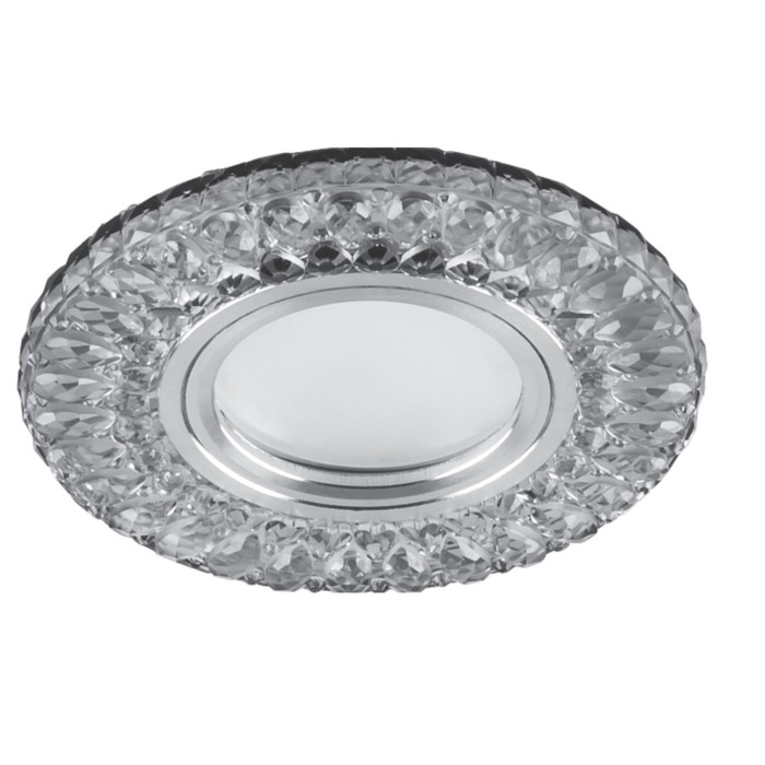 Встраиваемый светильник CD906, MR16, 50W, цвет белый, d=65мм
