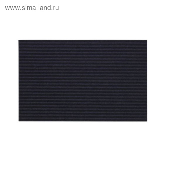 Придверный коврик КРИСТРУП, размер 35х55 см, цвет тёмно-синий