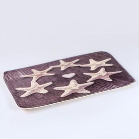 Набор ковриков для ванны и туалета Доляна «Звёзды», 2 шт: 40×50, 50×80 см