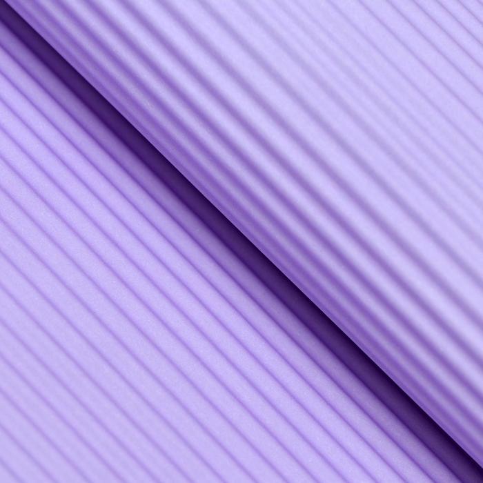 Бумага гофрированная Однотонная, фиалковый, 50 х 70 см