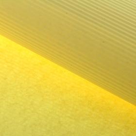 Бумага гофрированная 'Однотонная', желтая, 50 х 70 см Ош