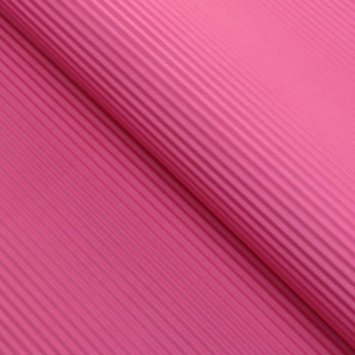 Бумага гофрированная Однотонная, розовая, 50 х 70 см