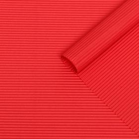 Бумага гофрированная 'Однотонная', красная, 50 х 70 см Ош