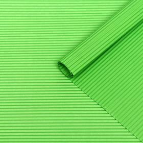 Бумага гофрированная 'Однотонная', светло-зеленая, 50 х 70 см Ош