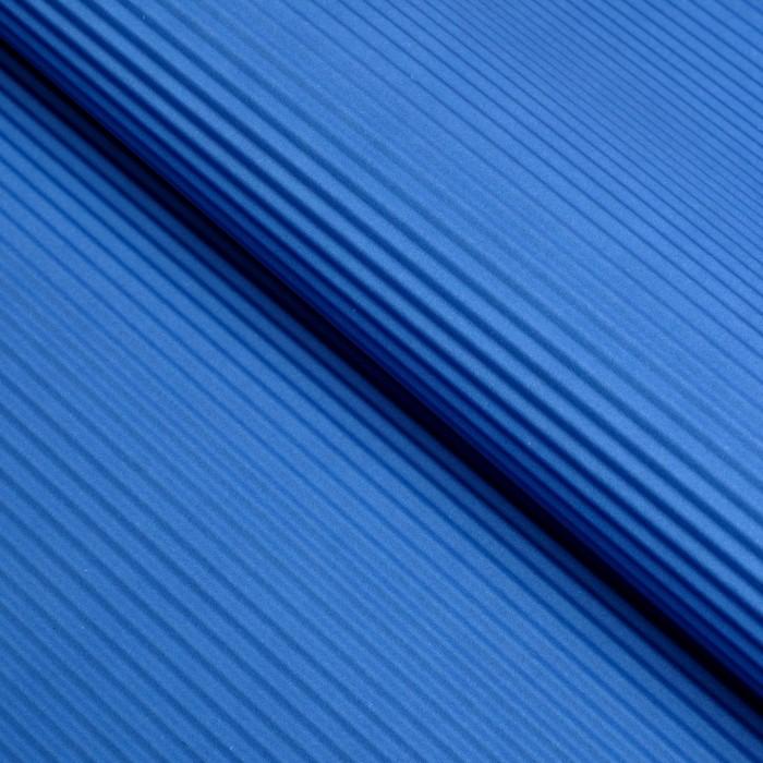 Бумага гофрированная Однотонная, синяя, 50 х 70 см