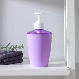 Дозатор для жидкого мыла «Весна», 400 мл, цвет МИКС Ош