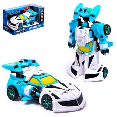 Робот «Полицейский», трансформируется, световые и звуковые эффекты - Фото 1