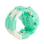 Робот «Часы», трансформируется, с функцией проектора, цвет бирюзовый - Фото 5