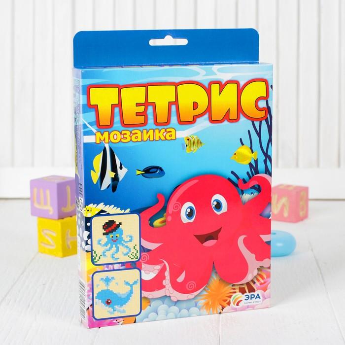 "Тетрис-мозаика ""Кит и осьминог"""