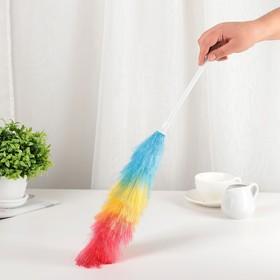 Щётка для удаления пыли, 55 см, цвет МИКС Ош