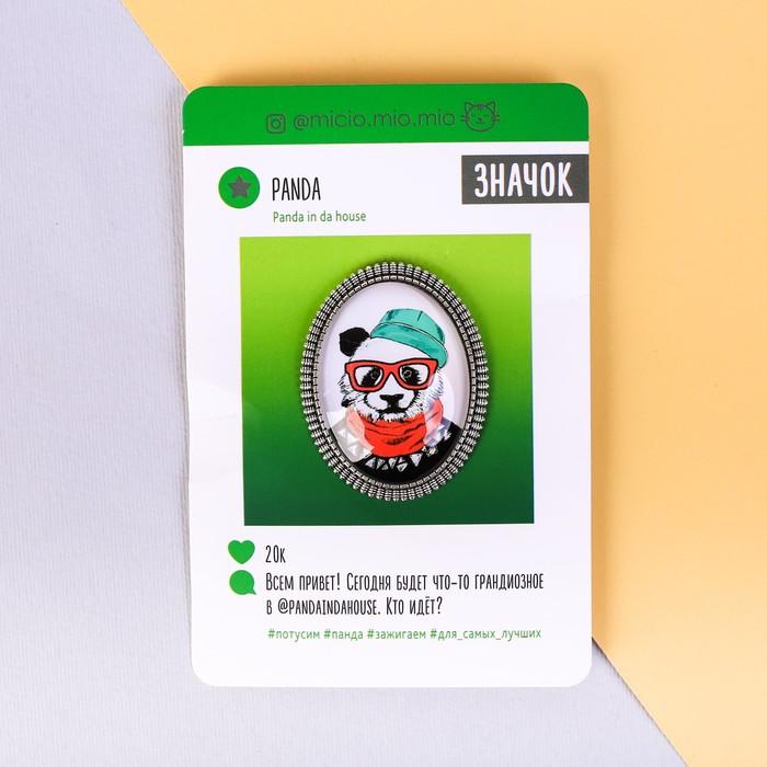 Брошь «Панда», 8 х 12 см