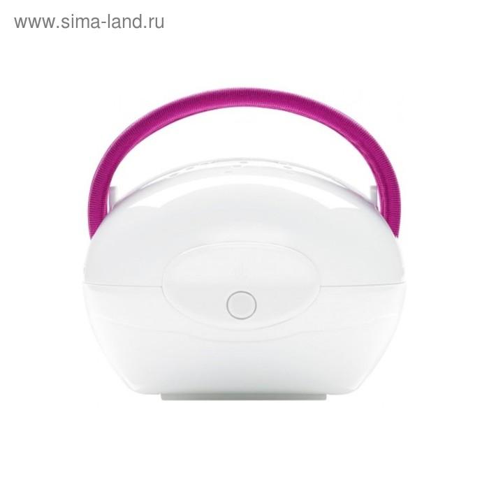 Массажер Medisana AC 855, 5 Вт, инфракрасный прогрев, антицеллюлитный, белый/розовый