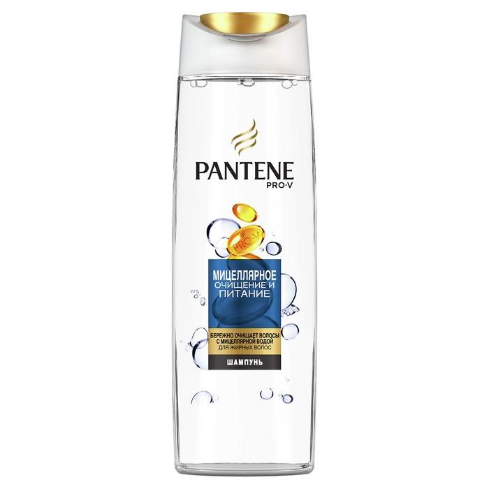 Шампунь для волос Pantene «Мицеллярное очищение и питание», 250 мл