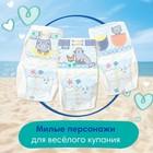 Трусики для плавания Pampers Splashers размер 3-4, 12 шт. - Фото 6
