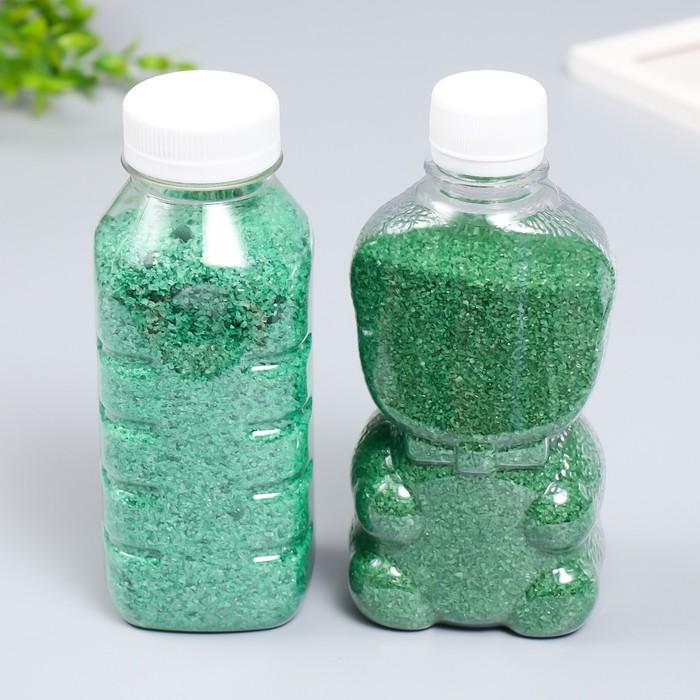"""Песок цветной в бутылках """"Бирюзовый"""" 500 гр"""