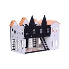 Домик для кукол «Замок Джульетты» с мебелью, бело-чёрный - Фото 3