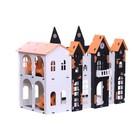 Домик для кукол «Замок Джульетты» с мебелью, бело-чёрный - Фото 5