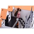 Домик для кукол «Замок Джульетты» с мебелью, бело-чёрный - Фото 6