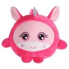 Мягкая игрушка Squishimals «Розовый единорог» 20 см