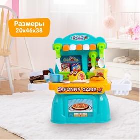 Игровой модуль кухня «Сладкоежка», с продуктами для резки Ош