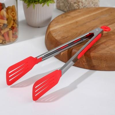 Щипцы для рыбы Доляна «Лопатка», 30 см, цвет МИКС - Фото 1