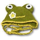 Одежда для пупса 38-43см: шапка-зверюшка, МИКС