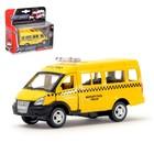 Машина металлическая «Микроавтобус Такси», масштаб 1:50, инерция