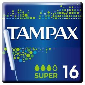 Тампоны с аппликатором Tampax Super, 16 шт.