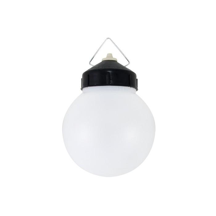 Светильник TDM НСП 03-60-027 У1, Е27, 60 Вт, IP44, шар, пластик, белый