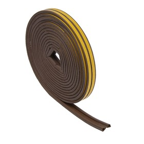 Уплотнитель резиновый TUNDRA krep, профиль Р, размер 5.5 х 9 мм, коричневый, в упаковке 10 м Ош