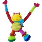 Развивающая мягкая игрушка «Бегемот-акробат»