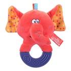Игрушка мягконабивная с прорезывателем «Цирковой слоник»