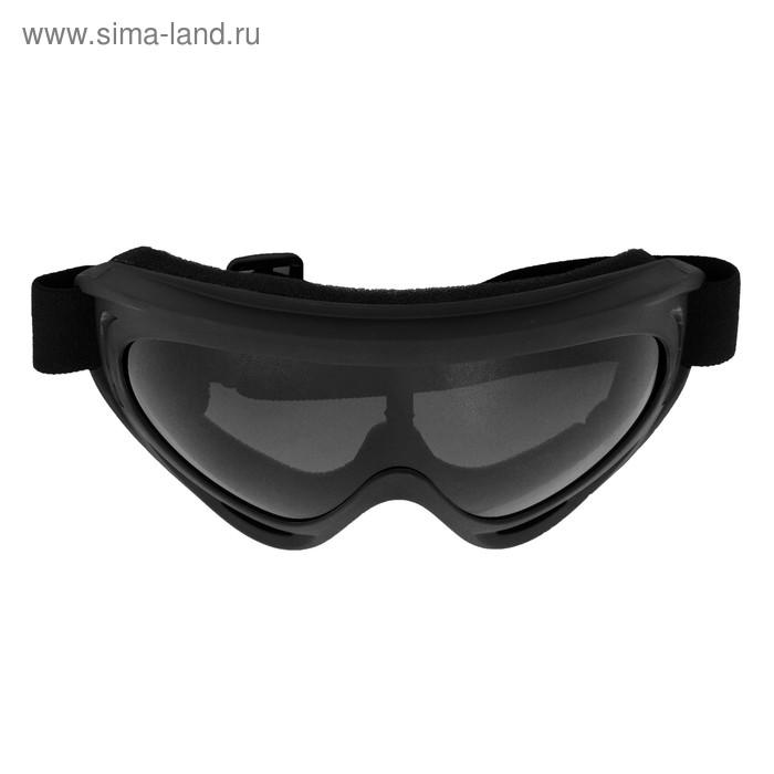 Очки, стекло прозрачное серое, черные