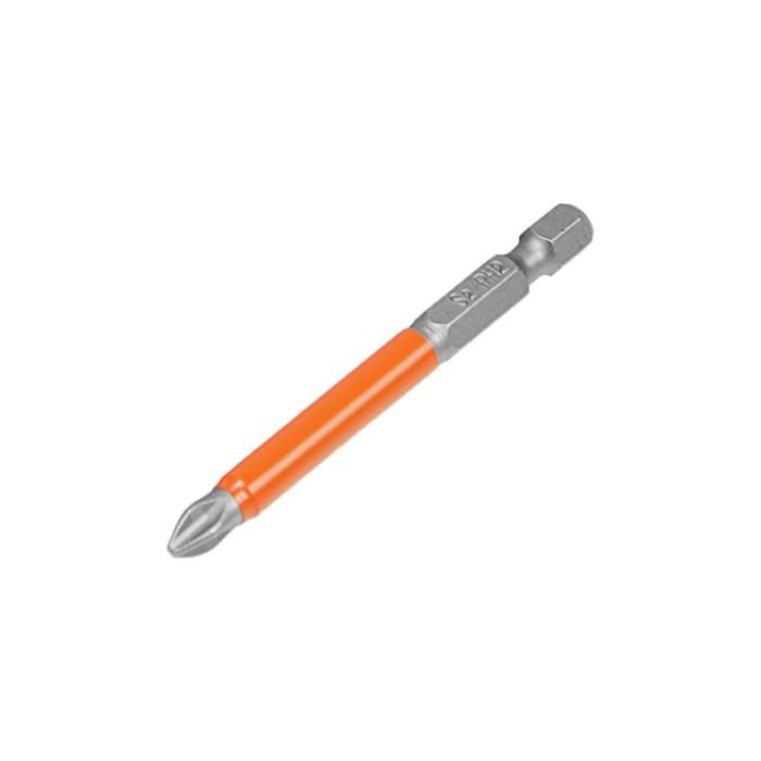 Бита Bohrer Taiwan Type, PH2 x 70 мм, сталь S2, намагниченная