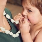 Слингобусы-массажеры для дёсен Happy Baby Chew Beads, силиконовые - Фото 1