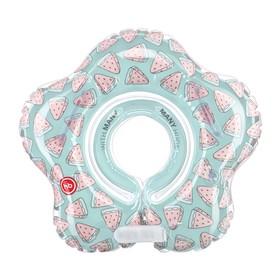 Круг для купания Happy Baby Aquafun, арбуз Ош