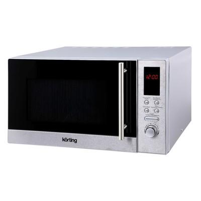 Микроволновая печь Körting KMO 823 XN, 1250 Вт, 23 л, гриль, серая - Фото 1