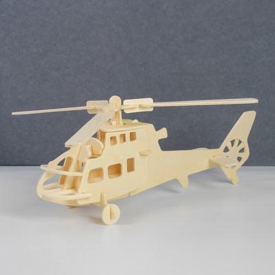 Сборная деревянная модель «Вертолет» - Фото 1