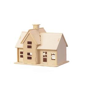 Сборная деревянная модель «Коттедж»