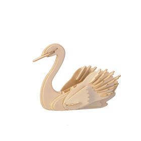 Сборная деревянная модель «Лебедь»