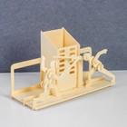 Сборная деревянная модель «Шпажисты»