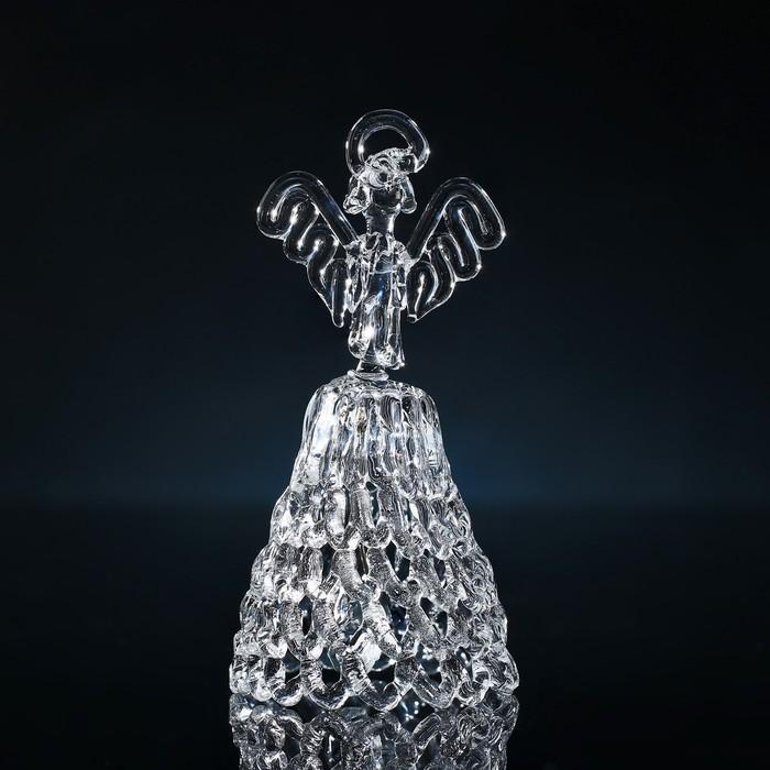 Колокольчик сувенирный «Хрустальный ангел», ручной работы