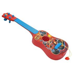 Гитара с медиатором «Вспыш»