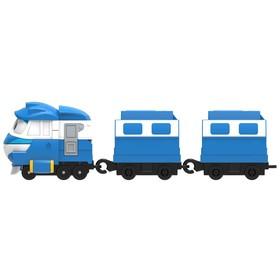 Паровозик «Кей», с двумя вагонами