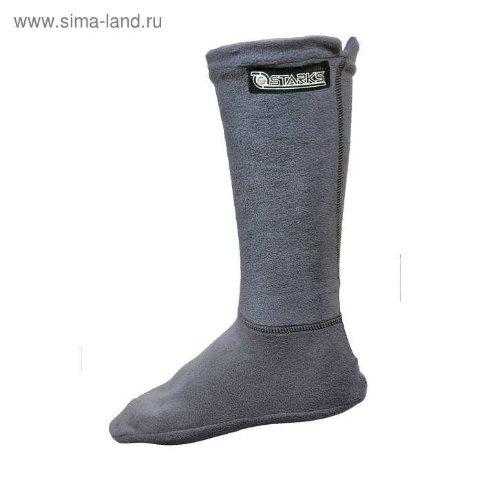 Термоноски fleece thermo socks, серый, 40-43