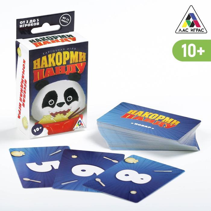 Настольная кооперативная игра Накорми панду