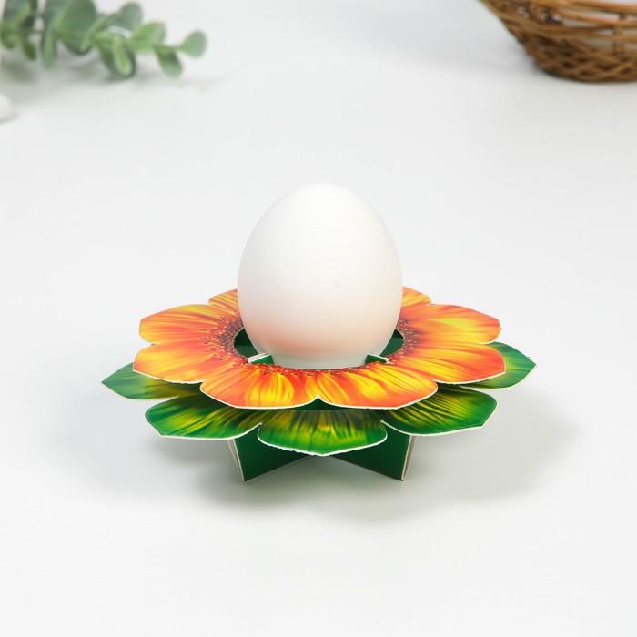 Подставка пасхальная на 1 яйцо Цветок