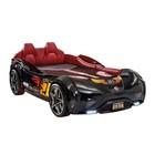Кровать-машина Gts, цвет чёрный, 100 х 190 см