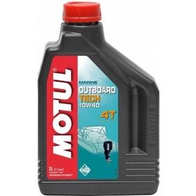 Моторное масло MOTUL Outboard TECH 4T 10W-40, 2 л Ош