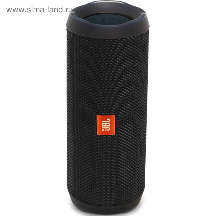 Портативная колонка JBL Flip 4, 2x8 Вт, Bluetooth, водонепроницаемая, черная